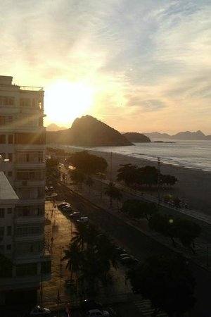 Copacabana Palace Hotel by Orient-Express: Morning View from Room!