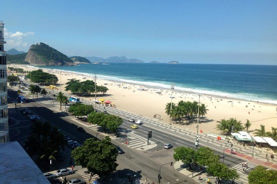 Copacabana Palace Hotel by Orient-Express: View from my Balcony