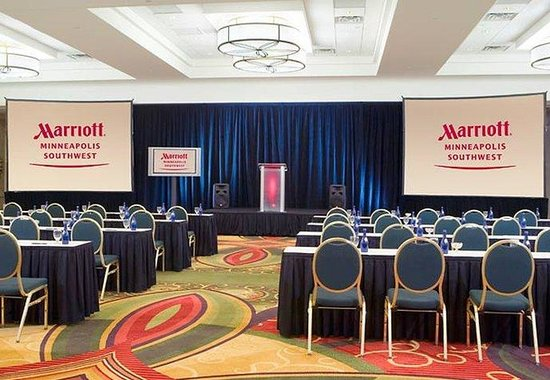 Minneapolis Marriott Southwest: Grand Ballroom Meeting