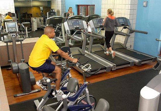 Cleveland Marriott Downtown at Key Center: Fitness Center