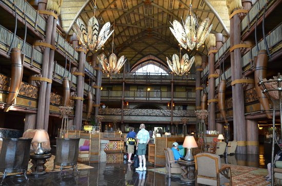 Disney's Animal Kingdom Lodge: Lobby - Jambo House