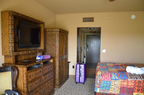 Disney's Animal Kingdom Lodge: Mini suite, standard view