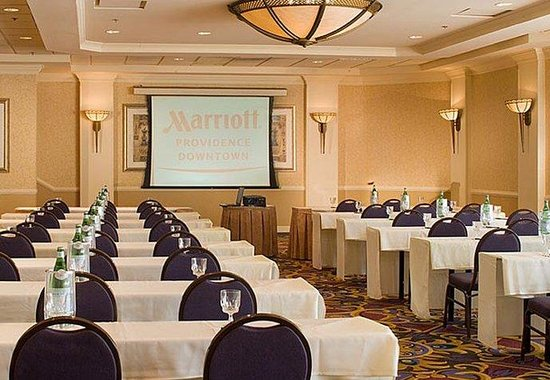 Providence Marriott Downtown: Marquis Ballroom Meeting