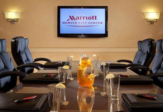 Denver Marriott City Center: Boardroom