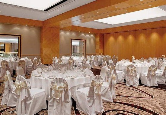 Vienna Marriott Hotel: Ballroom – Wedding Setup