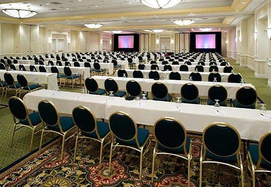 Richmond Marriott: Grand Ballroom – Classroom Style
