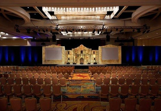 San Antonio Marriott Rivercenter: Grand Ballroom Meeting