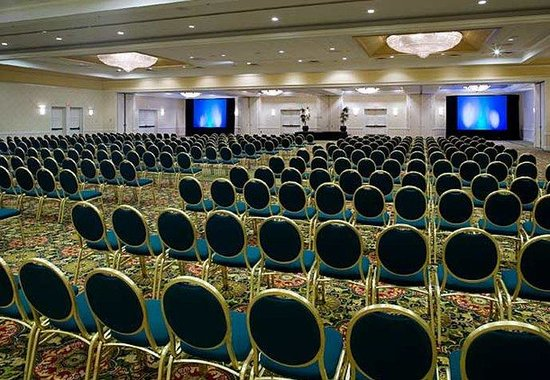 Richmond Marriott: Grand Ballroom – Theater Style