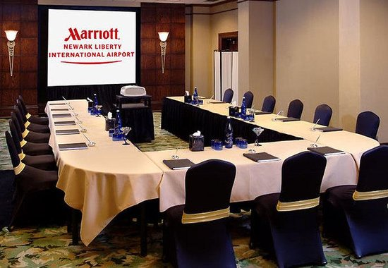 Newark Liberty International Airport Marriott: Meeting Room