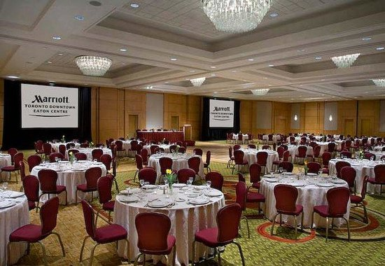 Toronto Marriott Downtown Eaton Centre Hotel: Grand Ballroom