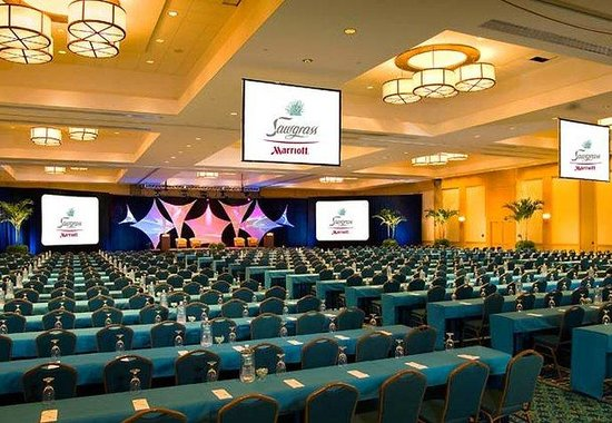Sawgrass Marriott Golf Resort & Spa: Champions Ballroom