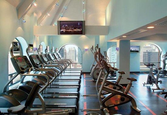 New York Marriott East Side: Fitness Center