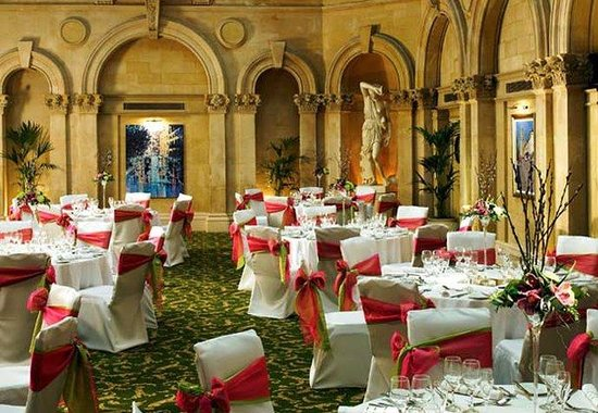 Bristol Marriott Royal Hotel: Palm Court - Banquet Set-Up