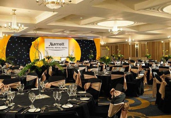 Bristol Marriott Royal Hotel: Kings Room -  Ballroom Set-Up