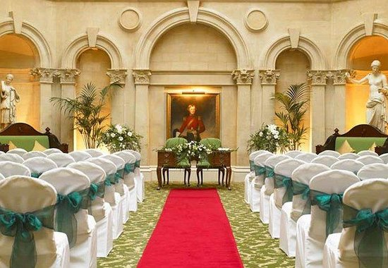 Bristol Marriott Royal Hotel: Palm Court – Civil Wedding