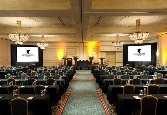 JW Marriott Miami: Grand Ballroom - Classroom Style