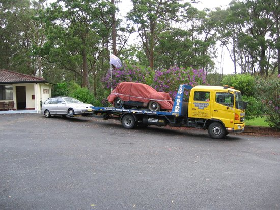 Kempsey, Australia: Plenty of room for large vehicles