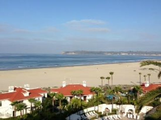 Hotel del Coronado: view from my balcony