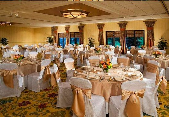 Marriott Vail Mountain Resort &amp; Spa : Colorado Ballroom- Banquet Style 