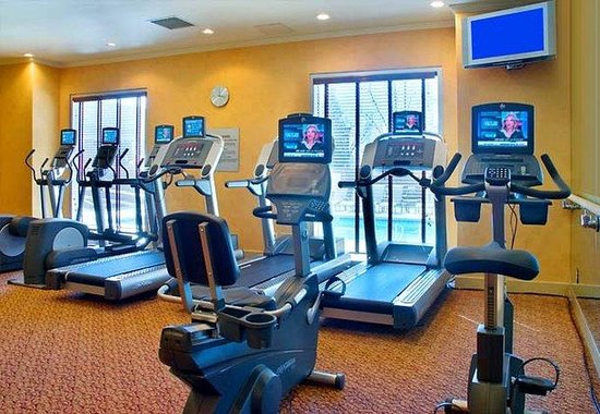 Marriott Visalia: Fitness Room