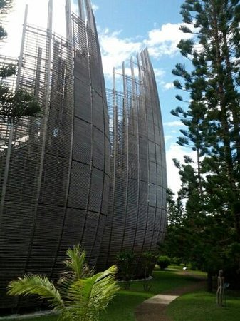 Noumea, Nueva Caledonia: Tjibaou Centre is a reconciliation masterpiece