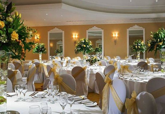 Chepstow, UK: St. Pierre Suite - Wedding Setup