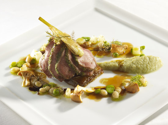 Chagford, UK: Lamb