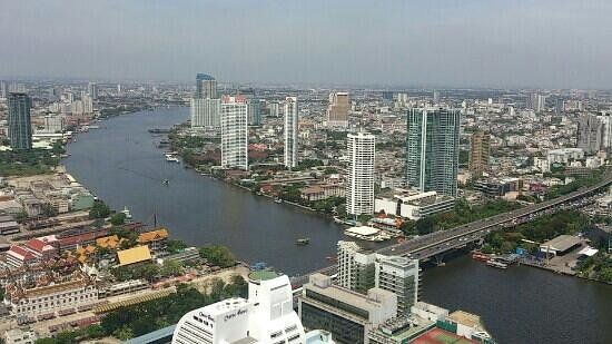 lebua at State Tower: view at 54th floor