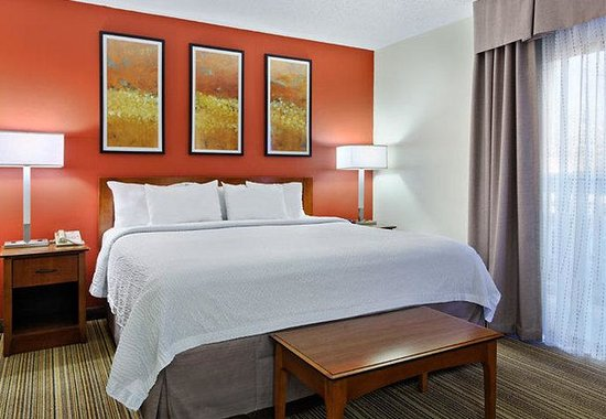 Residence Inn Winston-Salem University Area: Studio Suite Sleeping Area