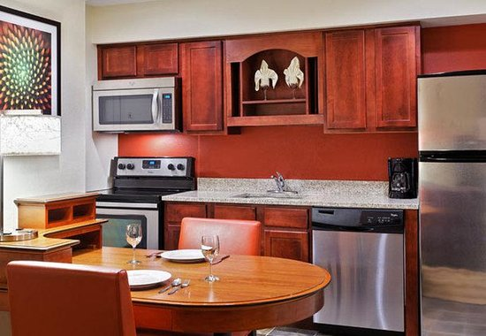 Residence Inn Winston-Salem University Area: Studio Suite Kitchen