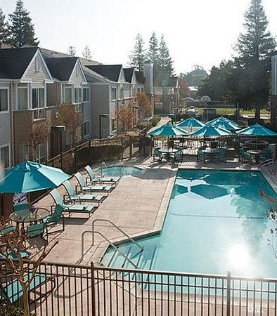 Pleasant Hill, Californien: Outdoor Pool