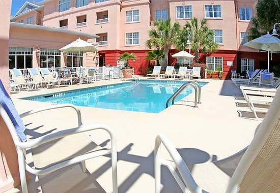 Residence Inn Charleston Downtown/Riverview: Outdoor Pool & Spa