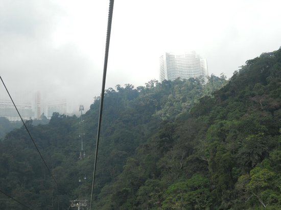 Pahang, Malasia: Beautiful cable car ride