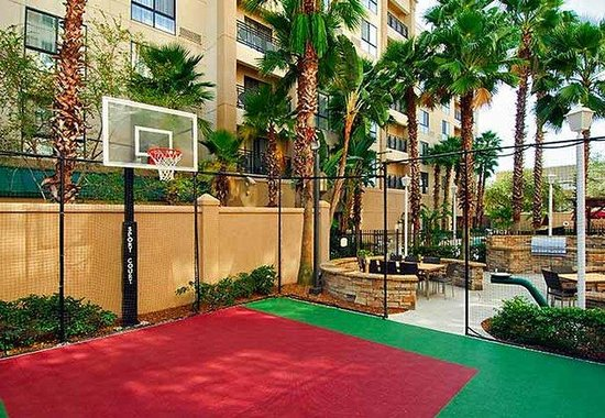 Residence Inn Tampa Downtown: Sport Court
