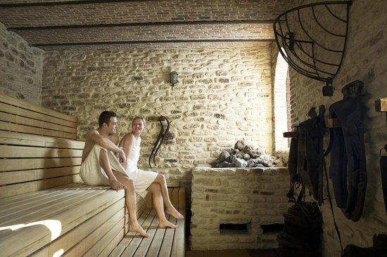 Horse Stable Sauna, Nude area - Picture of Thermae