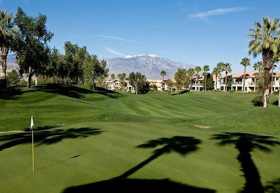 Marriott's Desert Springs Villas II : View from Golf Course