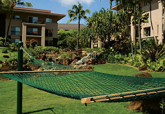 Marriott's Waiohai Beach Club: Hammocks