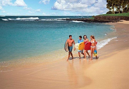 Marriott's Waiohai Beach Club: Beach Fun