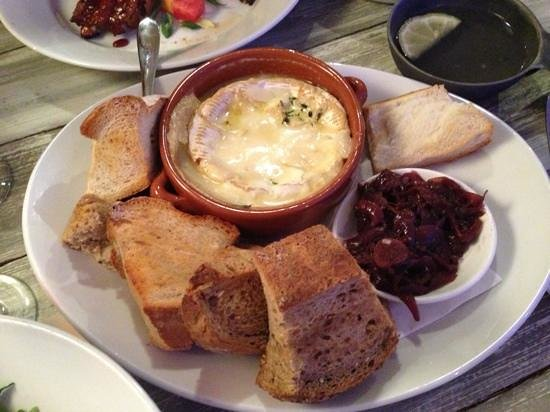 Solihull, UK: Yummy camembert