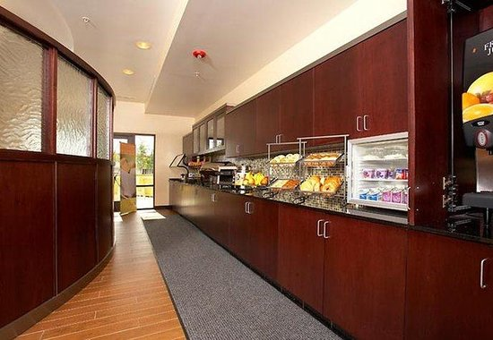 SpringHill Suites Modesto : Breakfast Buffet