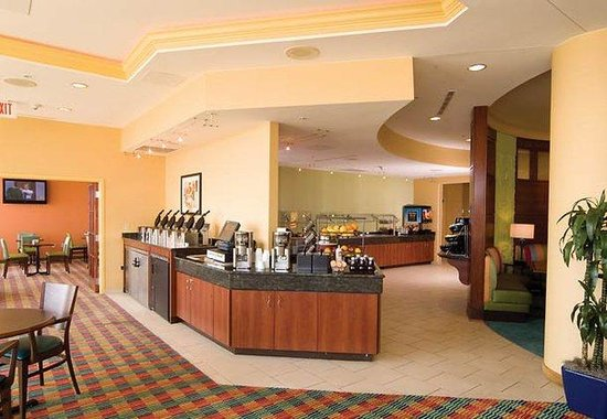 SpringHill Suites Virginia Beach Oceanfront: Breakfast Area