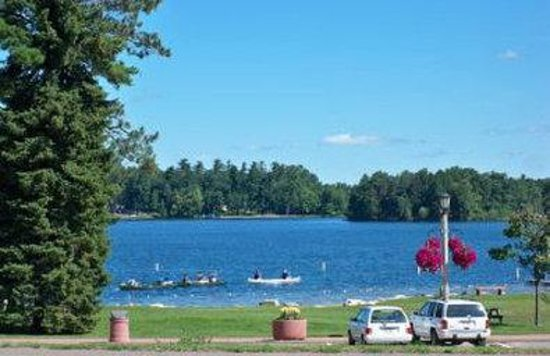 Minocqua, Wisconsin: Torpy Park Beach