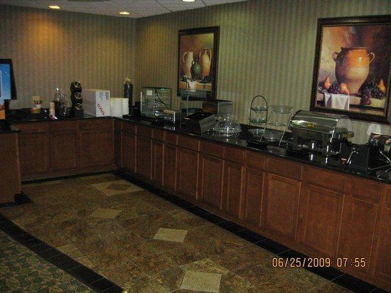 Kalamazoo, MI: Complimentary Breakfast Bar