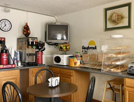 Days Inn Columbia: Breakfast Area