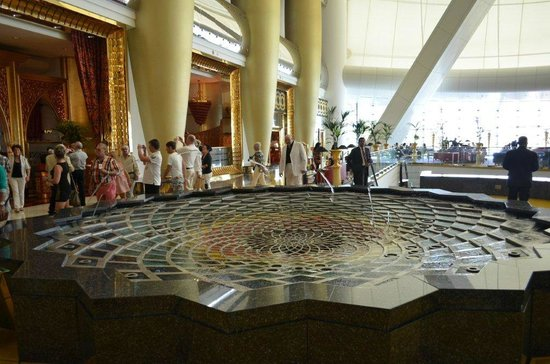 Burj Al Arab: Lobby