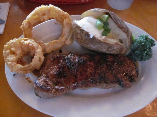 Flagler Beach, FL: Steak Special