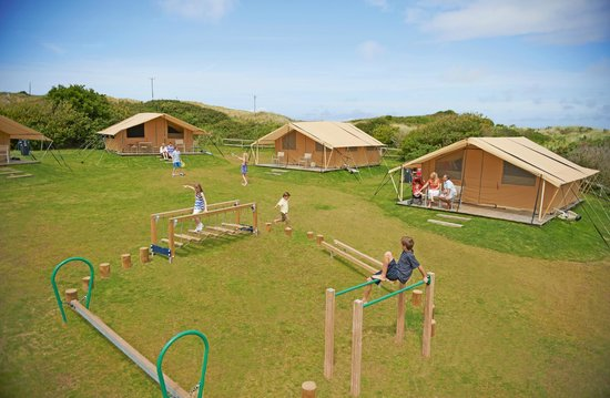 surf bay restaurant at perran sands - picture of perran sands holiday park