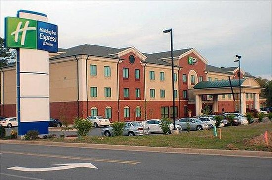 Holiday Inn Express & Suites - Little Rock West: Same great hotel, different view