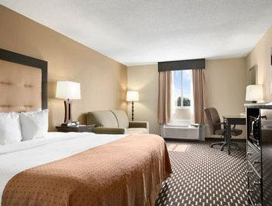 Ramada East Hartford: Standard One King Bedroom