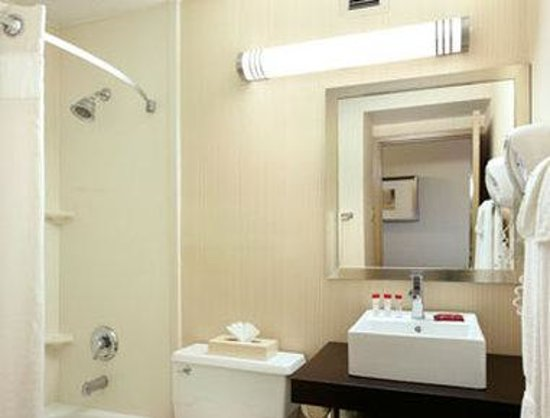 Ramada East Hartford: Bathroom